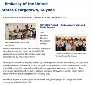 Ambassador Hardt Participates-in-Witness-Project-_-Embassy of the United States Georgetown, Guyana