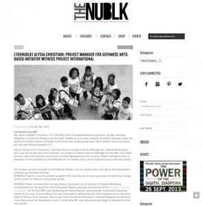 NUBLK article