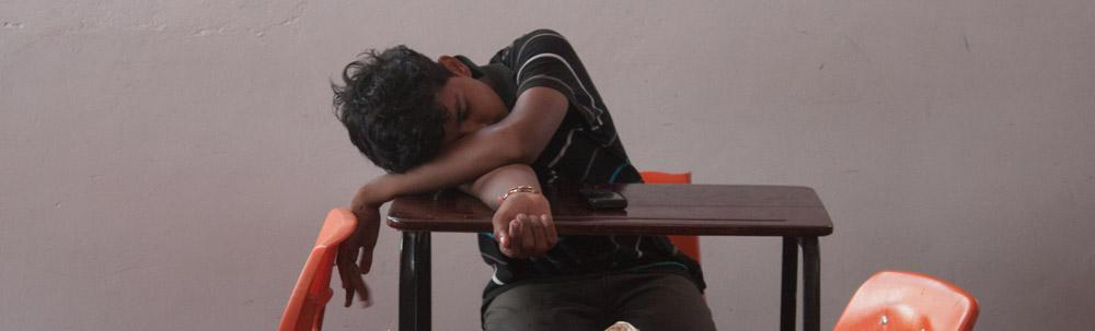 sleeping Raj